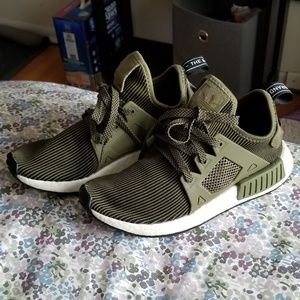 Adidas NMD XR1 Olive Green Shoes Size 5